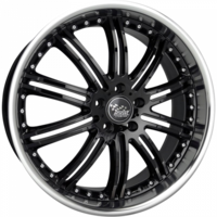Ssw 20X8.5 Phantom (5X114.3) ET35 Gloss Black Lip Polished