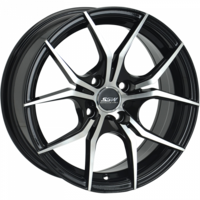 Ssw 15X7 Venom (4X114.3) ET35 Matte Black Full Polished