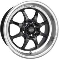 Ssw Tuning 15X7.5 (4X100) 30 Black/Polished Lip