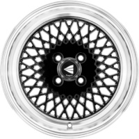 Enkei 20X8.5 EK92 (5X114.3) CB72.6 Black / Polished Lip 40